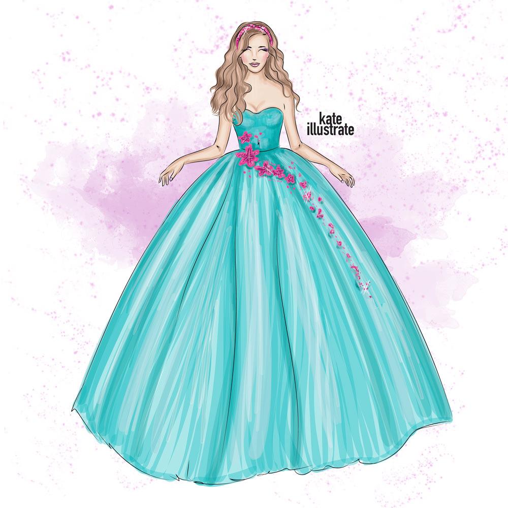 kateillustrate-princess