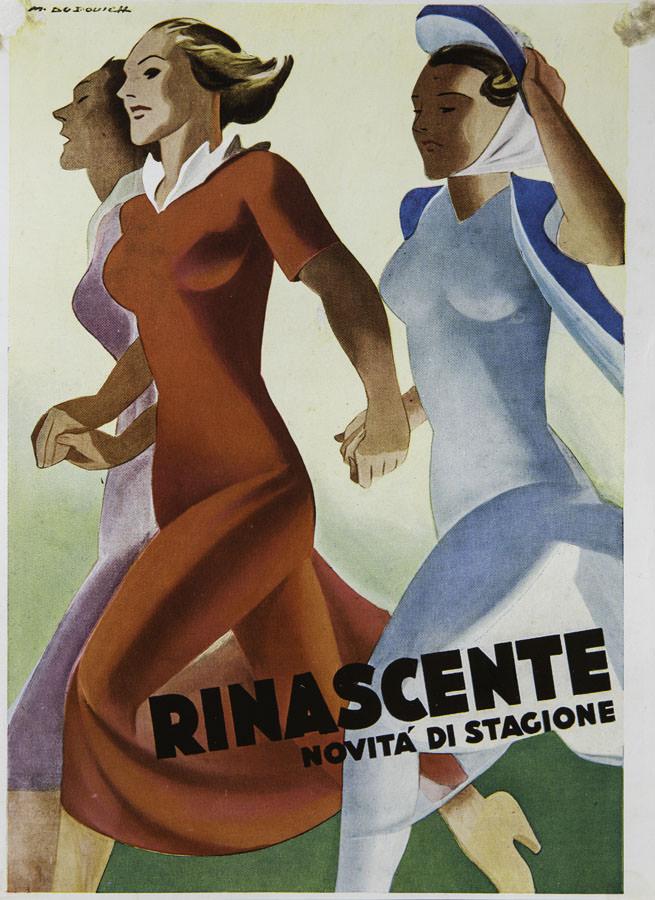 marcello-dudovich-rinascente-novita-di-stagione-1940-collezione-privata-villani