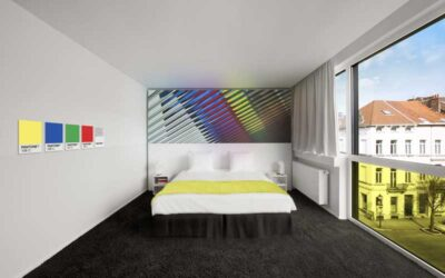 Hotel Pantone, Bruxelles