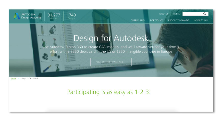 Design for autodesk