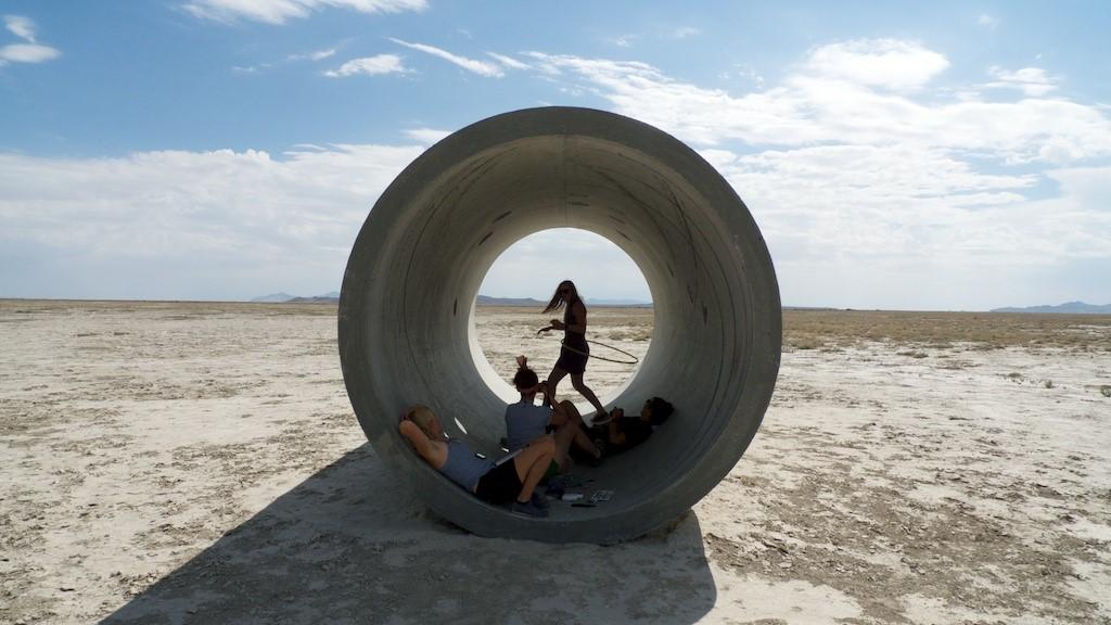 Sun Tunnels (4)