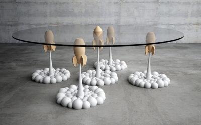 Rocket Coffee Table, Stelios Mousarris