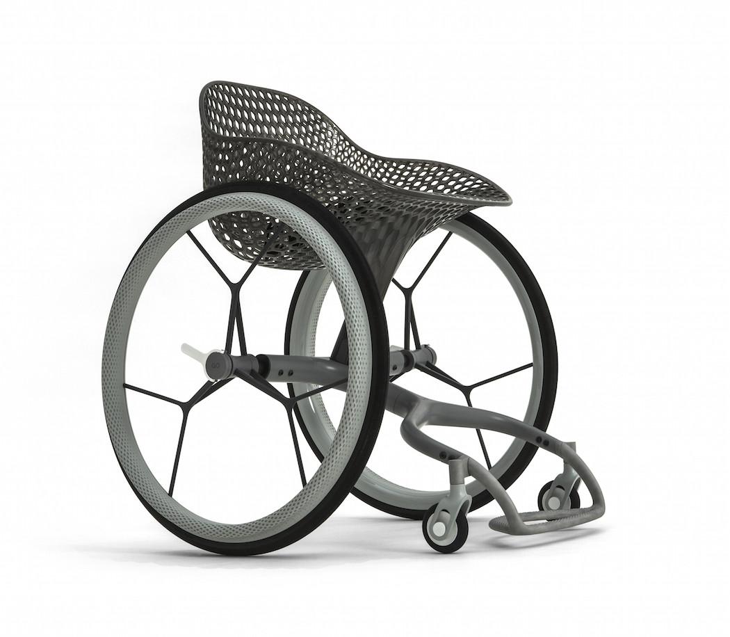 Go la prima sedia a rotelle realizzata in stampa 3d for Sedia design 2016