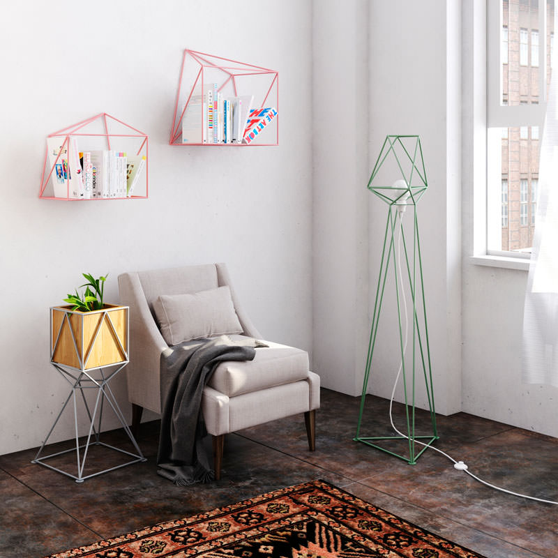 Lampade geometriche