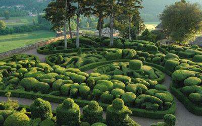 Le atmosfere surreali dei giardini del castello di Marqueyssac