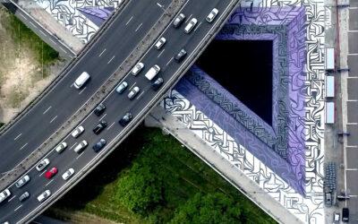 Illusioni ottiche in Murales, Astro