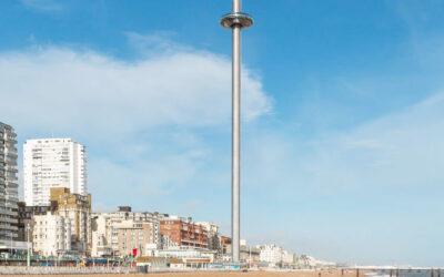 """A Brighton il primo """"molo verticale"""" al mondo"""