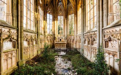 Edifici abbandonati fotografati da James Kerwin