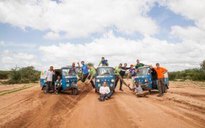 Tre ragazzi in giro per il mondo in Ape, Taurinorum Travel Team