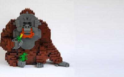 Gli animali in LEGO di Felix Jaensch