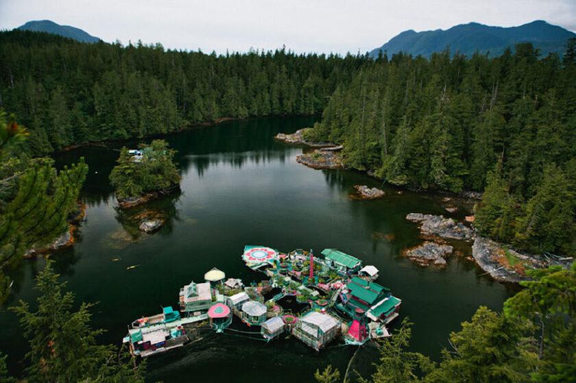 casa galleggiante sostenibile