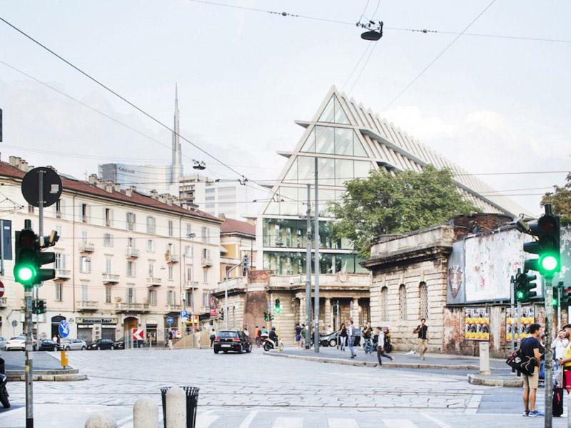 Un edificio normale, La nuova sede della Feltrinelli a Milano, Herzog & De Meuron