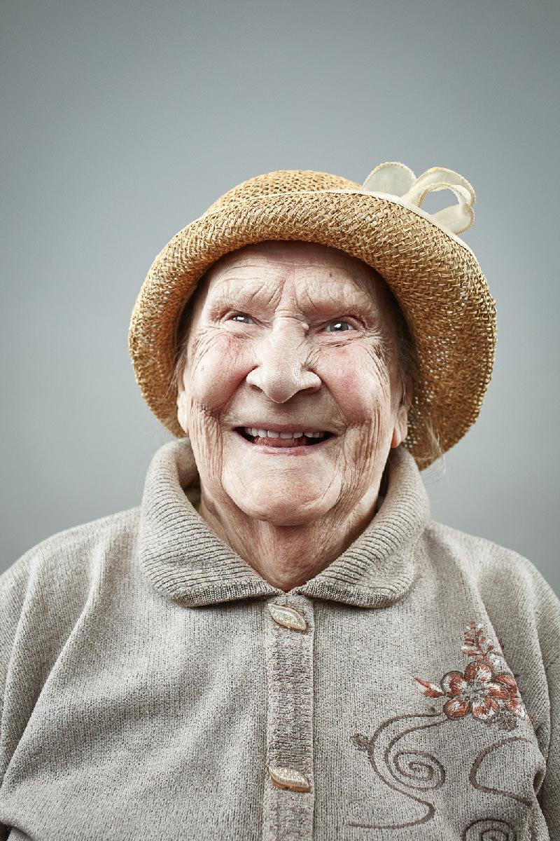 Il sorriso degli anziani