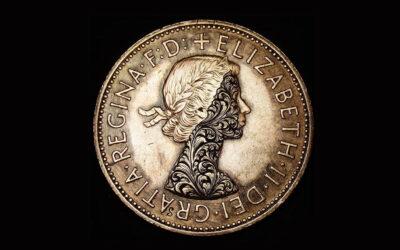 Le monete floreali di Shaun Hughes