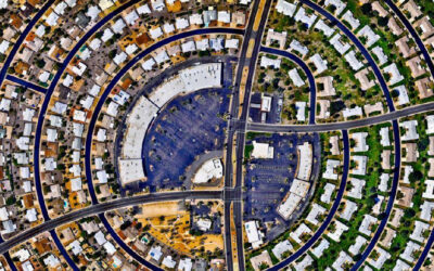 La bellezza delle città viste dall'alto