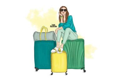 Kateillustrate, da un lavoro in Google alle illustrazioni di moda, ricercando se stessi