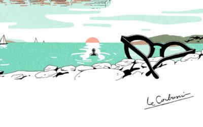 La biografia di Le Corbusier illustrata da Vincent Mahé