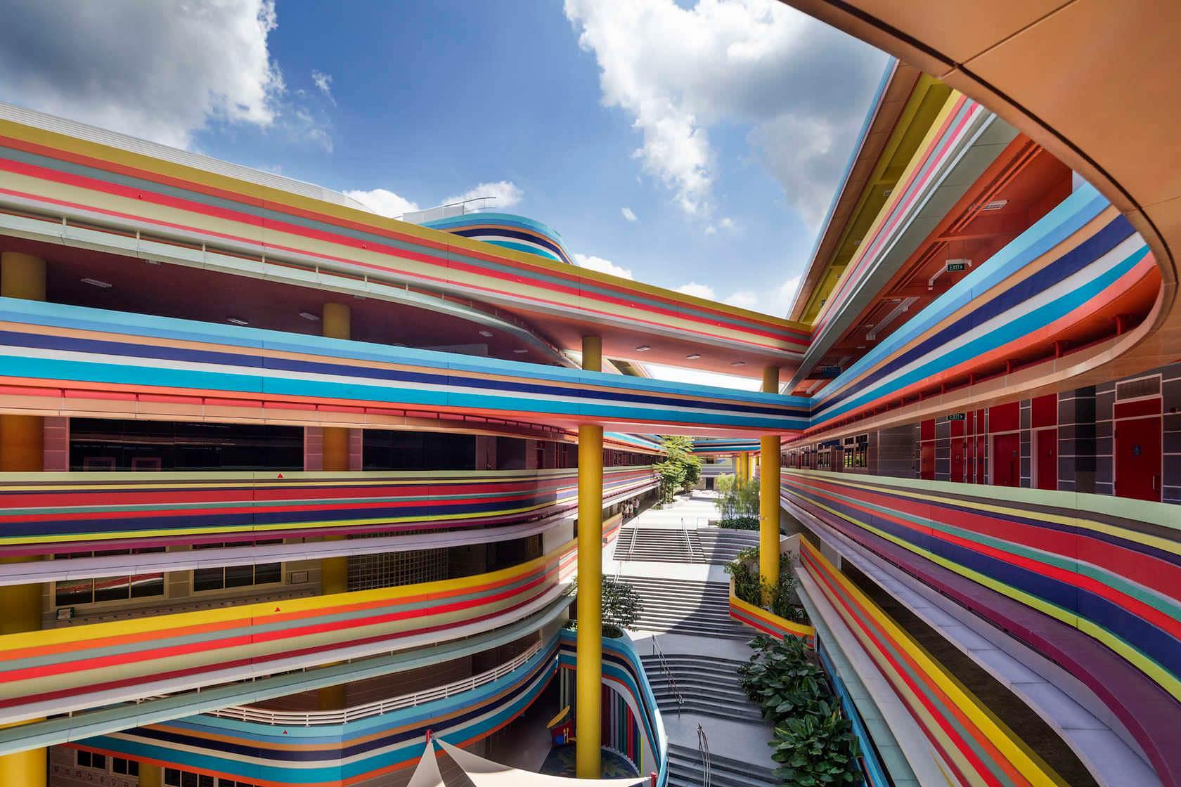 Nanyang Primary School, Singapore – Photo by Rory Daniel, John Gollings