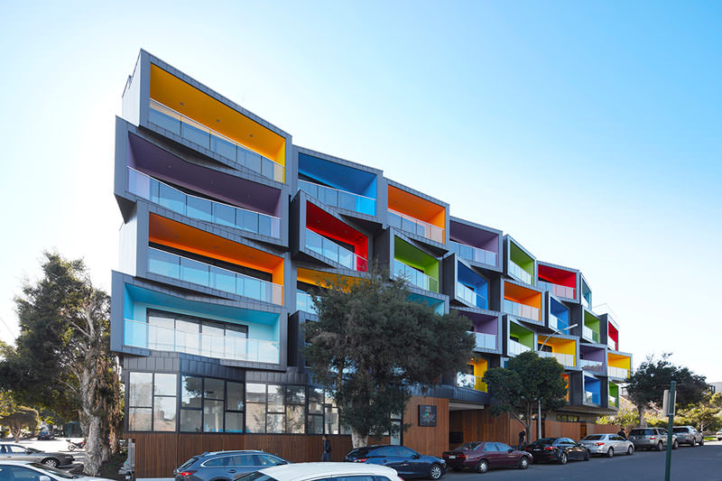 Spectrum Apartments by KUD – Photography by Peter Clarke