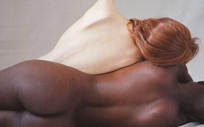 L'armonica passione di due corpi in contrasto, Camila Falquez