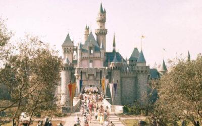 Fotografie dell'apertura del primo Disneyland nel 1955