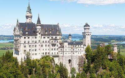 I più affascinanti castelli d'Europa filmati con un drone
