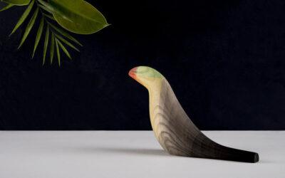 Gli uccelli stilizzati dai colori acquarello di Moisés Hernández