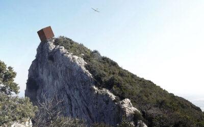 Un box che medita la vertigine, dal panorama mozzafiato