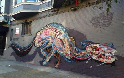 Graffiti di anatomie animali, Nychos
