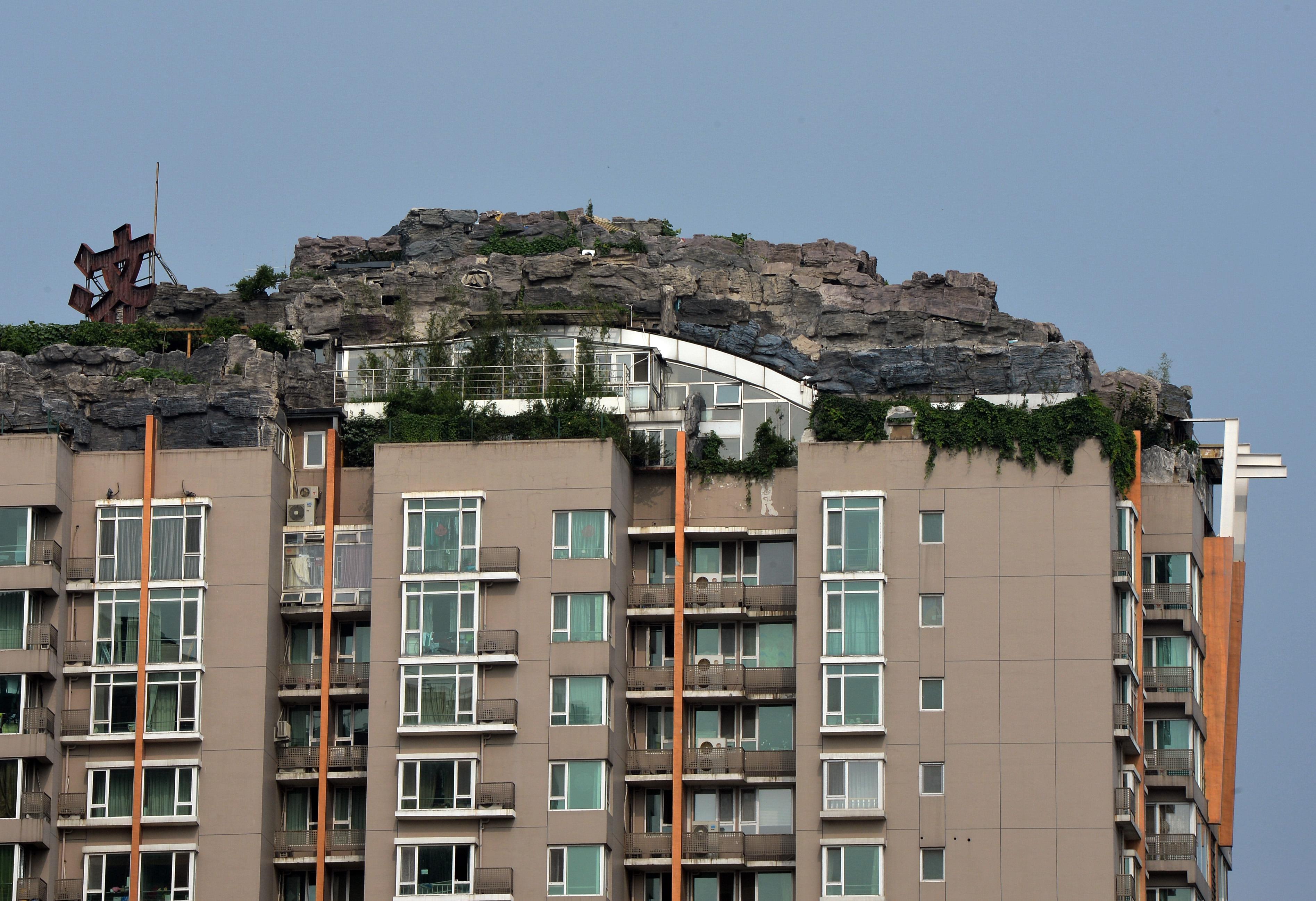 Rooftop Rock Villa Beijing