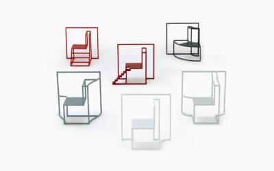 Le sedute di Andrea Ponti che si ispirano alle finestre di Hong Kong