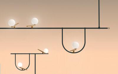 Come volatili in riposo, le lampade di Neri & Hu