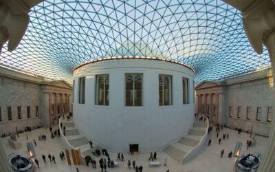 La linea del tempo del British Museum