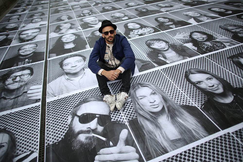 Artist JR Moves His Photographic Art Installation To London