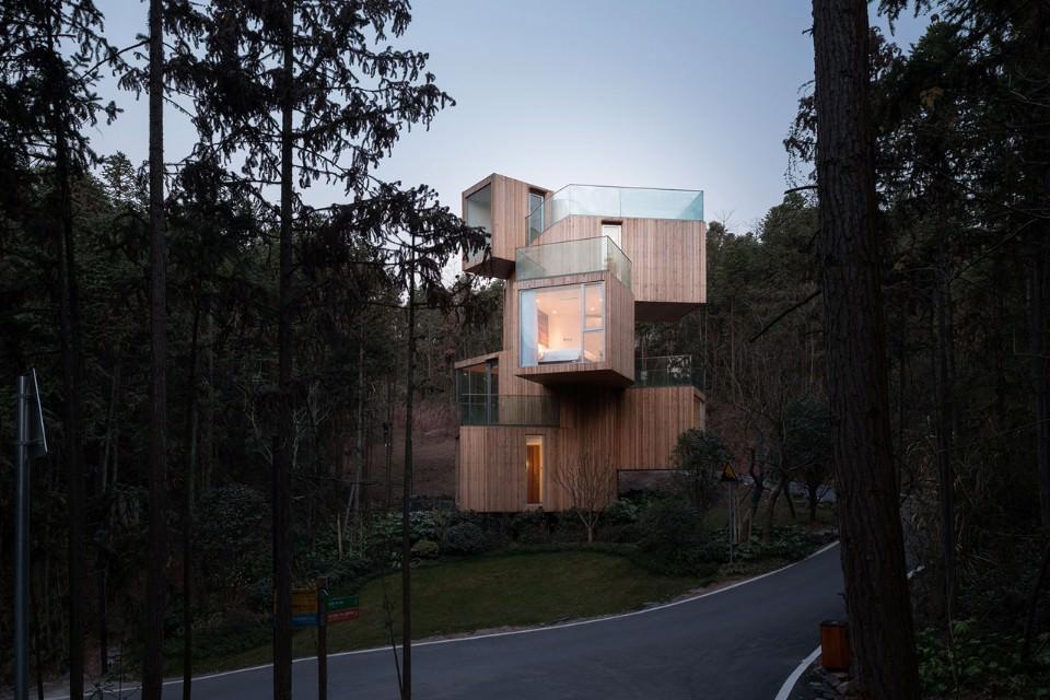 Non una casa sull albero ma una casa albero for Architettura natura