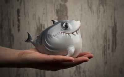 Le simpatiche creature marine di Katyushka Art Dolls