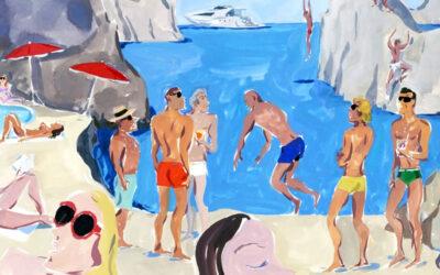 "Le ""Postcards"" di Moncler per Jean-Philippe Delhomme"