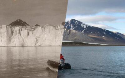 Le fotografie inequivocabili sullo scioglimento dei ghiacciai di Christian Åslund
