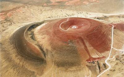 C'è chi sceglie di costruire dentro al cratere di un vulcano per vedere le stelle - Roden Crater, James Turrell