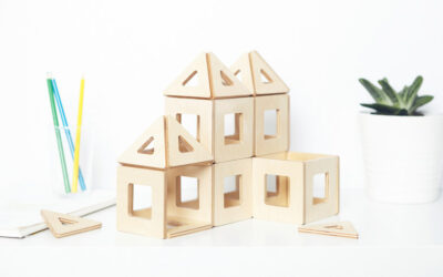 Le geometrie magnetiche per bambini creativi
