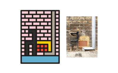 I particolari urbani ricomposti graficamente da Peter Judson
