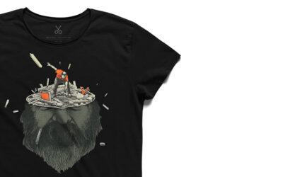 Le t-shirt illustrate di Kaft