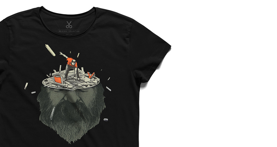 t-shirt illustrate