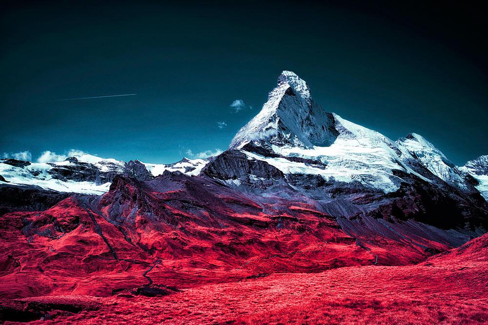 paesaggi a infrarossi