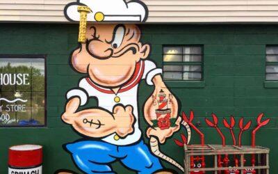 La street art di Tom Bob per le strade newyorchesi