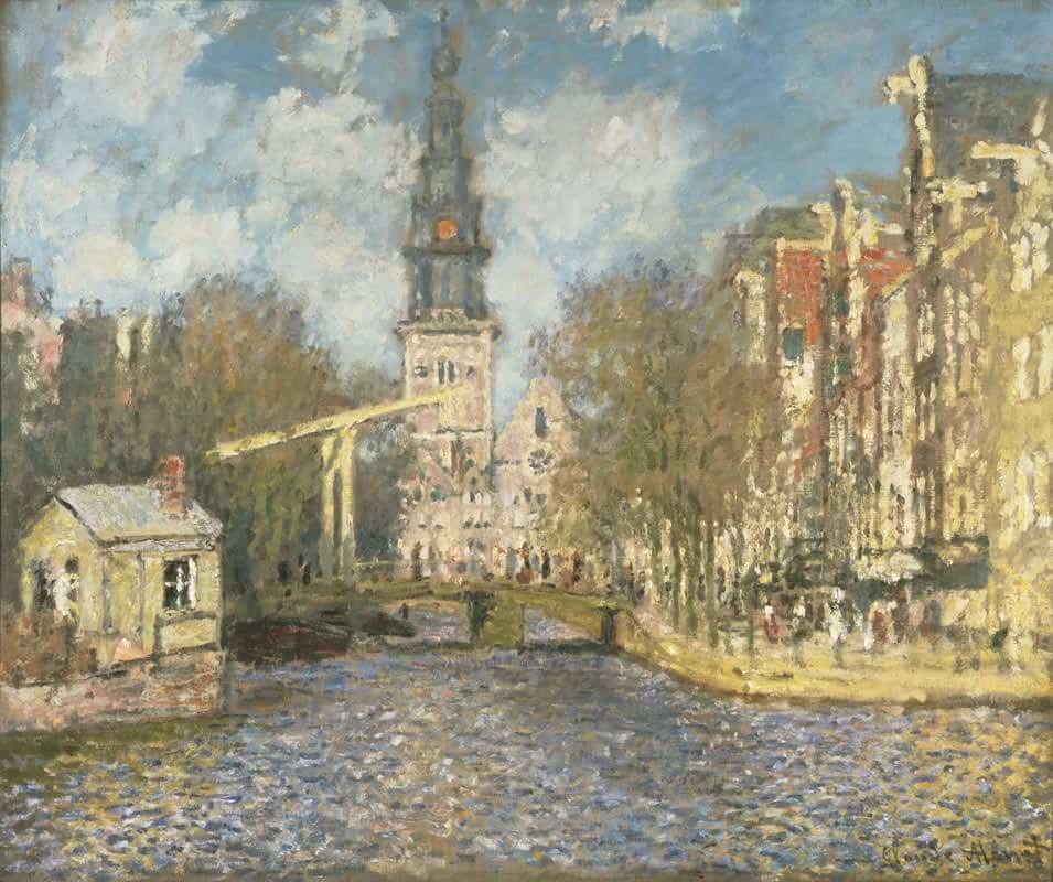 28.-claude-monet-la-zuiderkerk-di-amsterdam-ca.-1874
