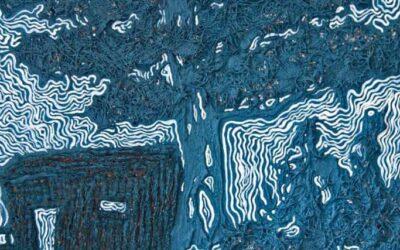 Le interazioni tra pittura e materia nelle opere di Marina òàz