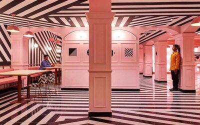 Pink Zebra il ristorante indiano ispirato a Wes Anderson