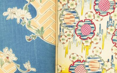 Shin-Bijutsukai, rivista giapponese di pattern e illustrazioni di inizio '900