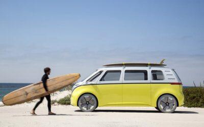 L'iconico Volkswagen Van in versione elettrica